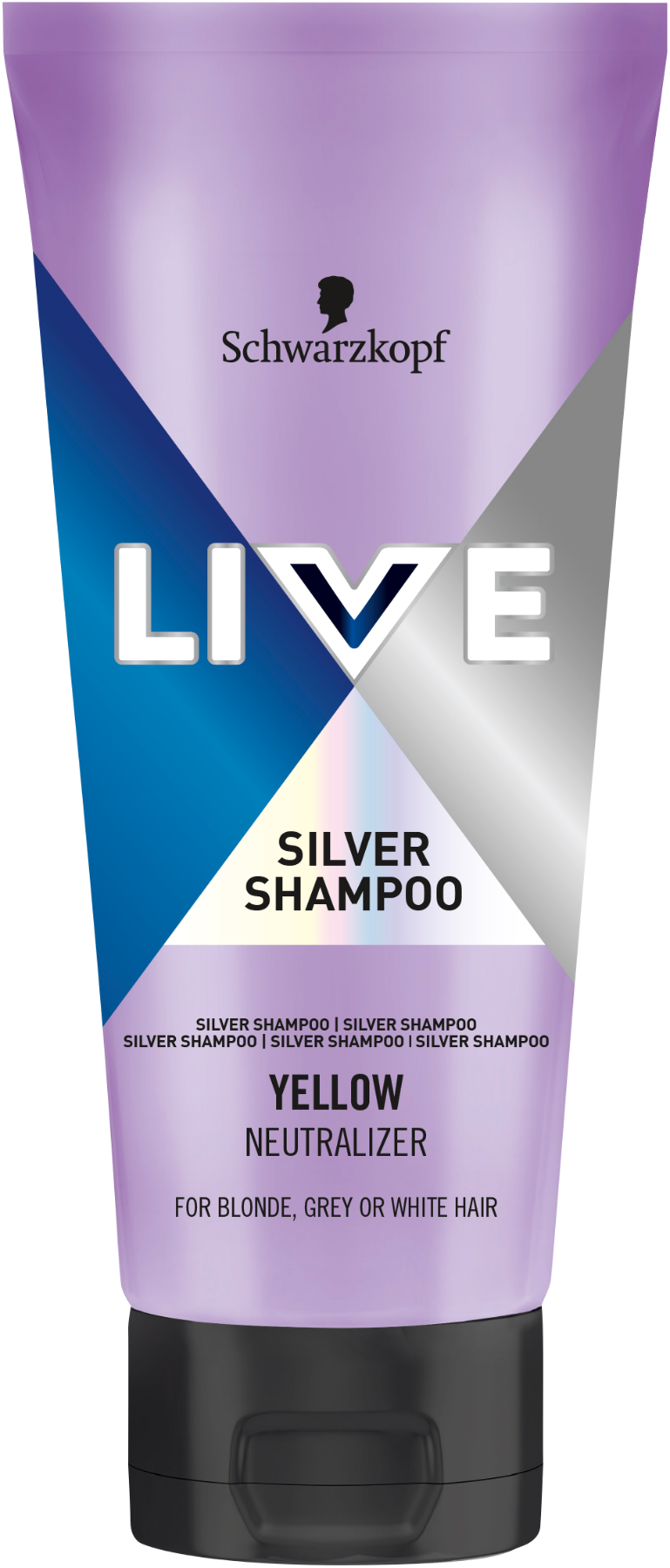 Live Silver Shampoo Yellow Neutralizer AT